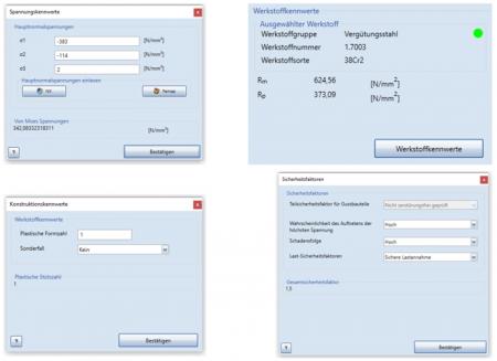 Direkter Mehrwert - Eingabe in die Software, A-Struct