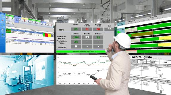 Auftrags- und Betriebsdaten verwalten (BDE)