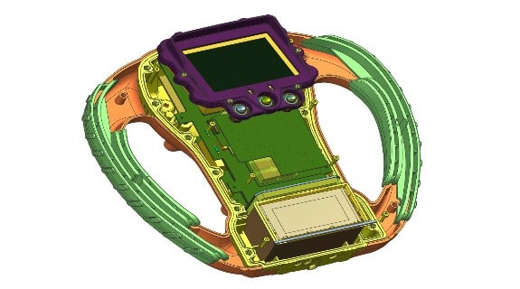 Integration mechanischer und elektrischer Konstruktion