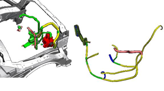 Mechanische Verkabelungs- und Verrohrungssysteme