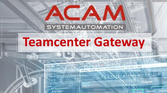 ACAM Teamcenter Gateway