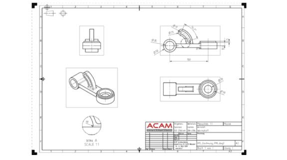 Zeichnungserstellung und 2D-Konstruktion