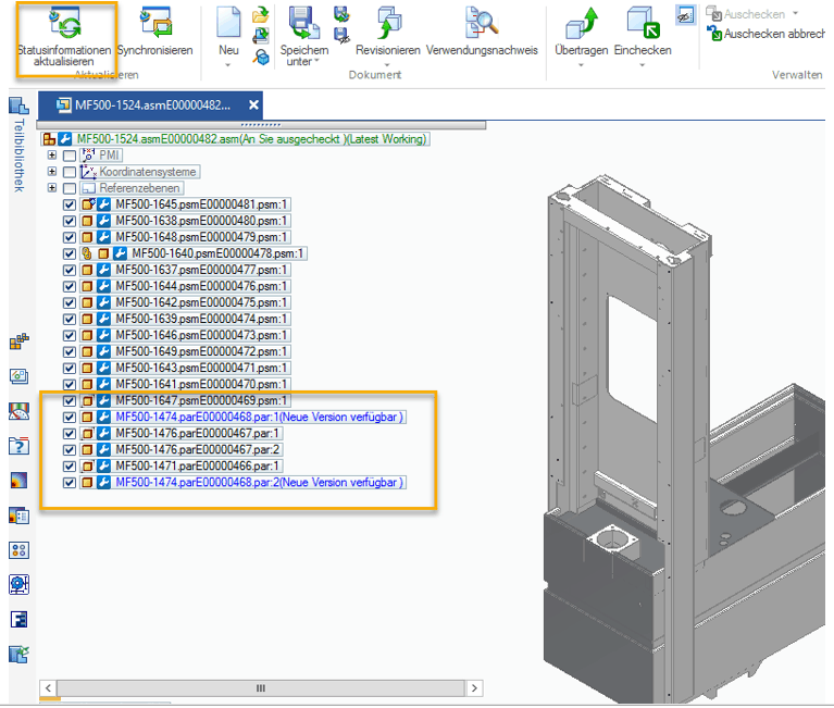 Whats new Solid Edge 2020 – Teamcenter Integration