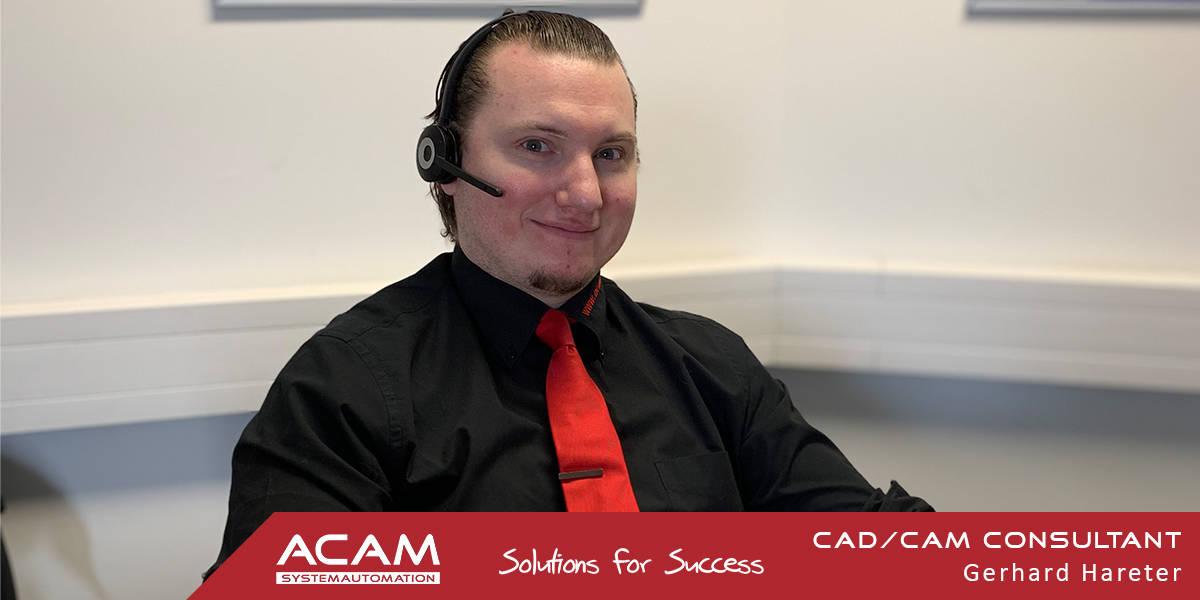Gerhard Hareter ACAM CAD CAM Consultant