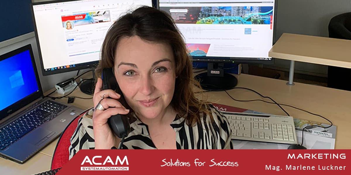 Marlene Luckner ACAM Systemautomation