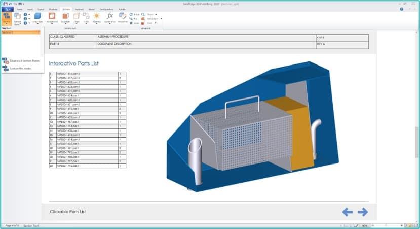 Solid Edge 2020 Technische Dokumentation
