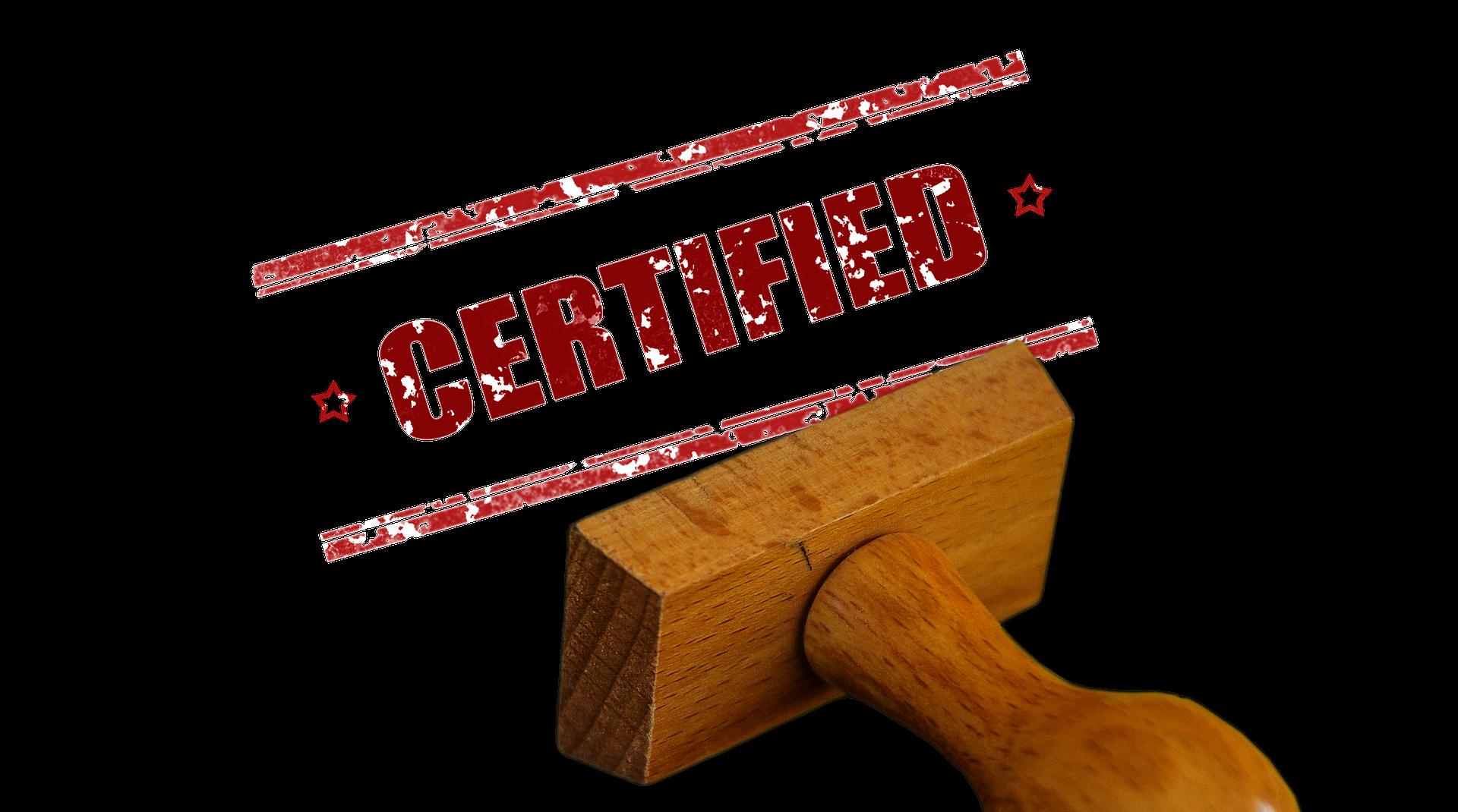 Zertifizierung Florian Schüssler