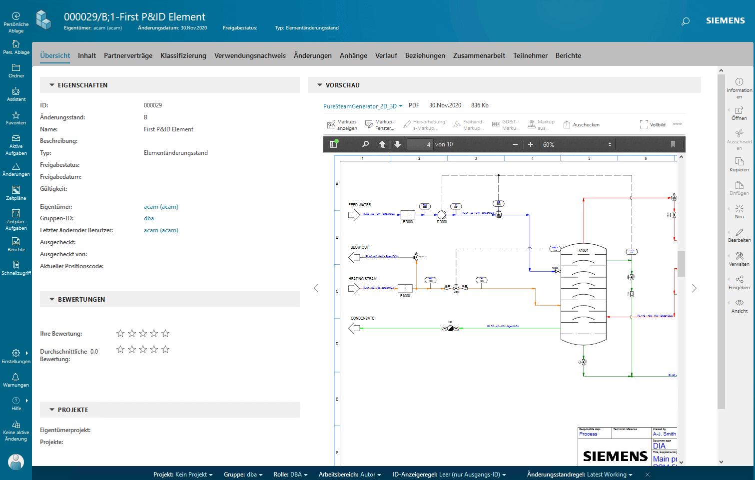 P&ID - Teamcenter Integration