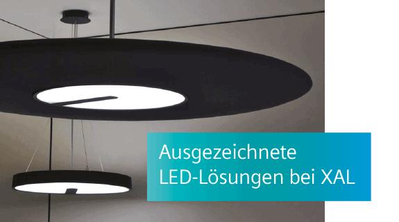 Ausgezeichnete LED-Lösungen bei XAL
